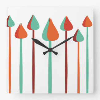 Brushes Wall Clocks