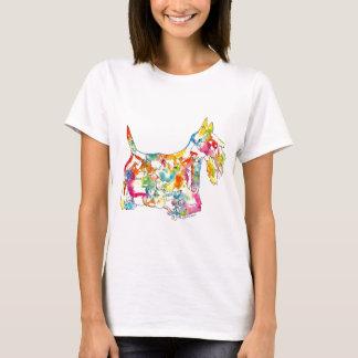 Brushfolks Scotties in A Scotty T-Shirt