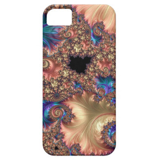 Brushstroke and Response Fractal Case For The iPhone 5