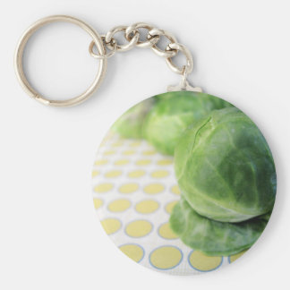Brussel Sprouts Key Ring