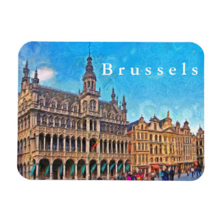 Brussels. Сity Museum at Grand place. Magnet