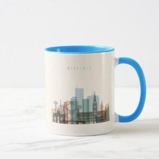Brussels, Belgium | City Skyline Mug