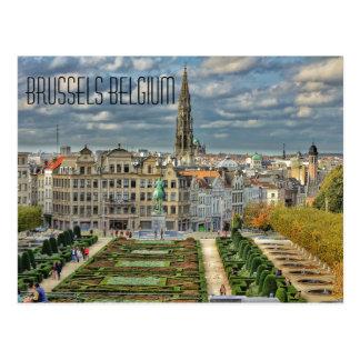 Brussels, Belgium Postcard
