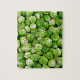 Brussels cabbage jigsaw puzzle