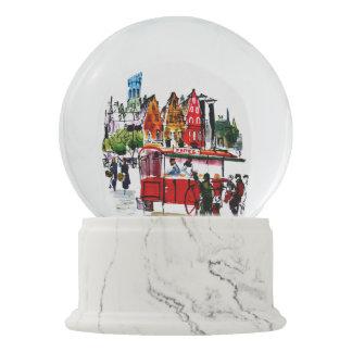 Brussels City Snow Globe