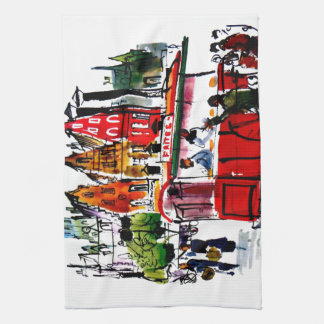 Brussels City Tea Towel