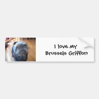 Brussels Griffon Bumper Sticker