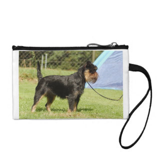 brussels griffon full coin purse