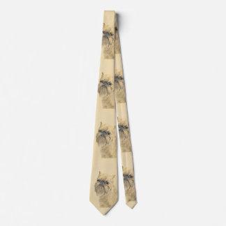 Brussels Griffon Painting - Cute Original Dog Art Tie