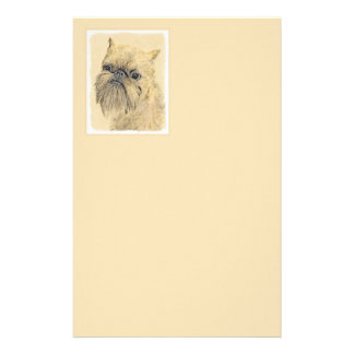 Brussels Griffon Stationery