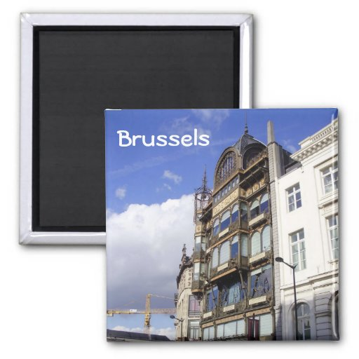 Brussels Refrigerator Magnets