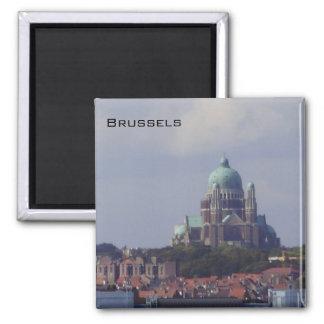 Brussels - Sacre Coeur Magnet