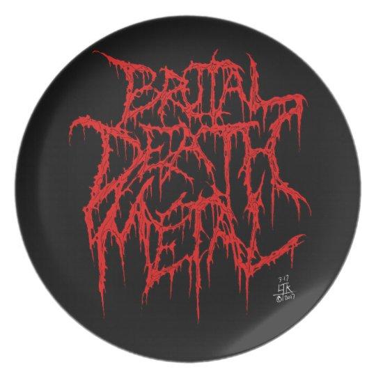 Brutal Death Metal Plate