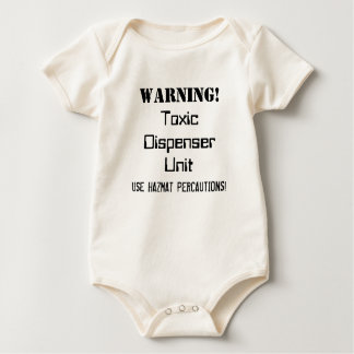 """Brutal Muse """"Toxic Dispenser Unit"""" One-sy Baby Bodysuit"""