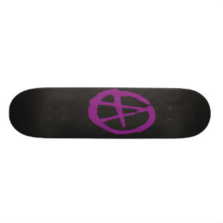 Brutal Purlpe Black Anarchy Skateboard Decks