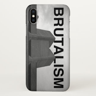 Brutalism Theatre iPhone X Case