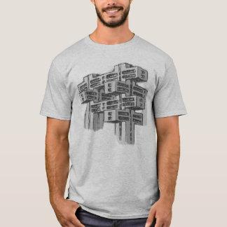 Brutalist Modernist Architecture T-Shirt