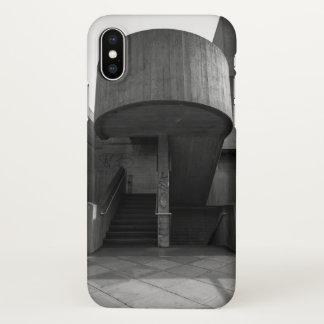 Brutalist Stairwell iPhone X Case