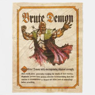 Brute Demon Fleece Blanket