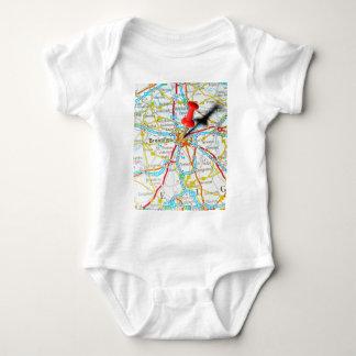 Bruxelles, Brussel, Brussels  in Belgium Baby Bodysuit