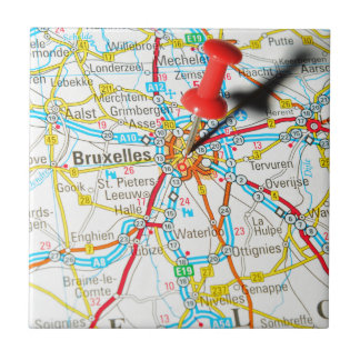 Bruxelles, Brussel, Brussels  in Belgium Tile
