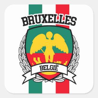 Bruxelles Square Sticker