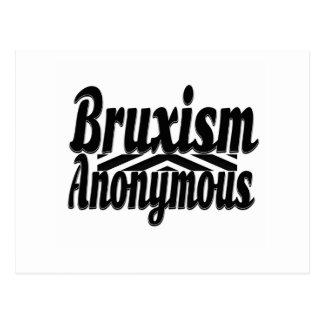 Bruxism Anonymous Postcard