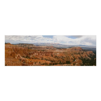 Bryce Canyon Amphitheater Panorama Poster
