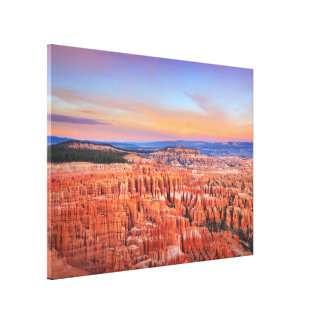 Bryce Canyon Art Canvas Print