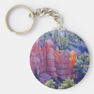 Bryce Canyon Glowing Key Ring