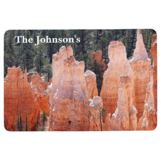Bryce Canyon National Park Personalized Floor Mat
