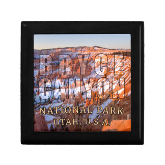 Bryce Canyon National Park Small Square Gift Box