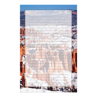 Bryce Canyon National Park Stationery Paper
