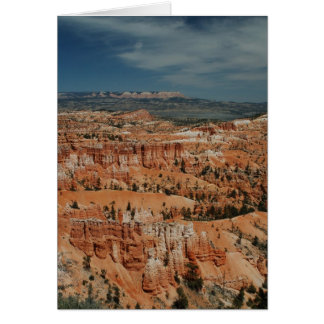 Bryce Canyon National Park, Utah Card