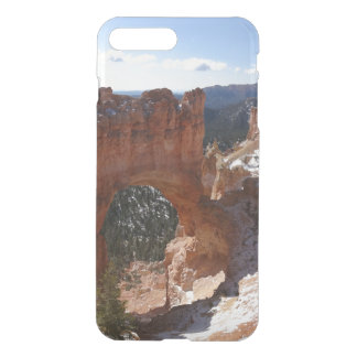 Bryce Canyon Natural Bridge Snowy Landscape Photo iPhone 8 Plus/7 Plus Case