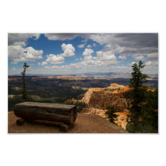 Bryce Canyon Vista Posters