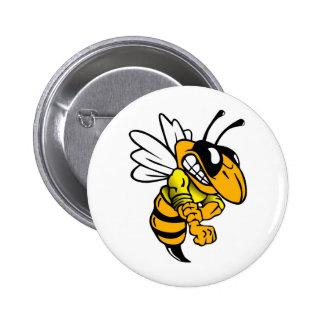 Bsaa Yellow Jackets Under 8 6 Cm Round Badge
