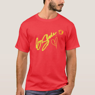 @BSLADE Signature Series Yellow On Red Tee