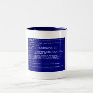 -BSoD- Two-Tone Coffee Mug