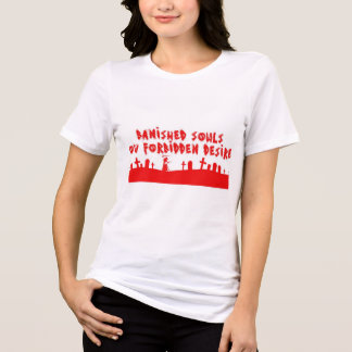 BSOFD Red grave on white XL Jursey T-Shirt