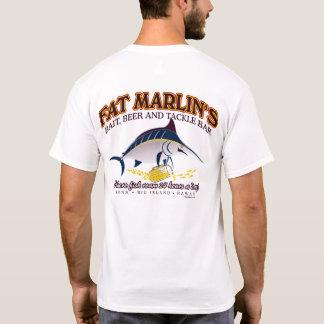 BT267 - Fat Marlin's Bait, Beer & Tackle Tee