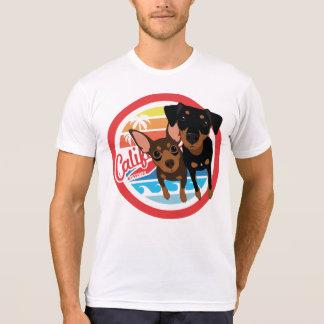 BT2MPS California Min Pin Dogs T-shirt