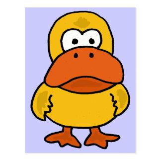 BT- Angry Duck Postcard