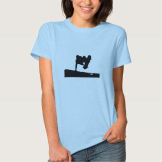 BTJ Ladies Silhouette Babydoll T-shirts