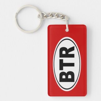 BTR Baton Rouge Louisiana Key Ring