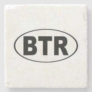 BTR Baton Rouge Louisiana Stone Coaster