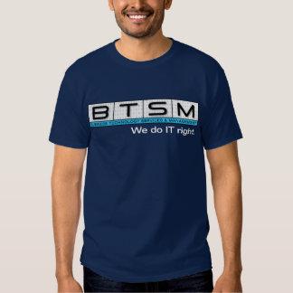 BTSM (large logo) Shirts