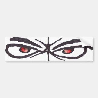 BTT Eyes Bumper Sticker