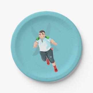 "Bubba Custom Paper Plates 7"""