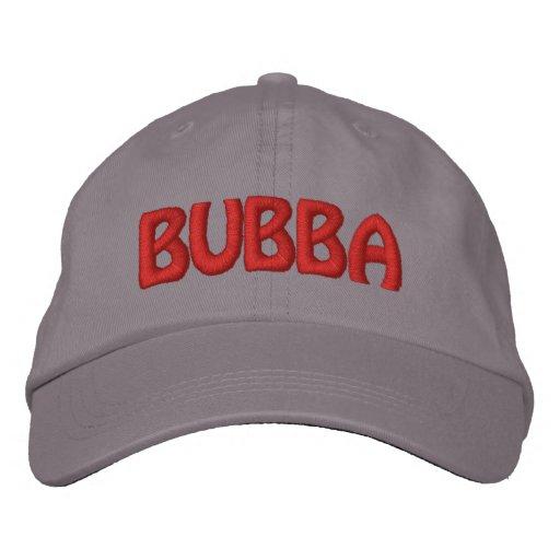 Bubba! Funny Redneck Nickname Embroidered Baseball Cap